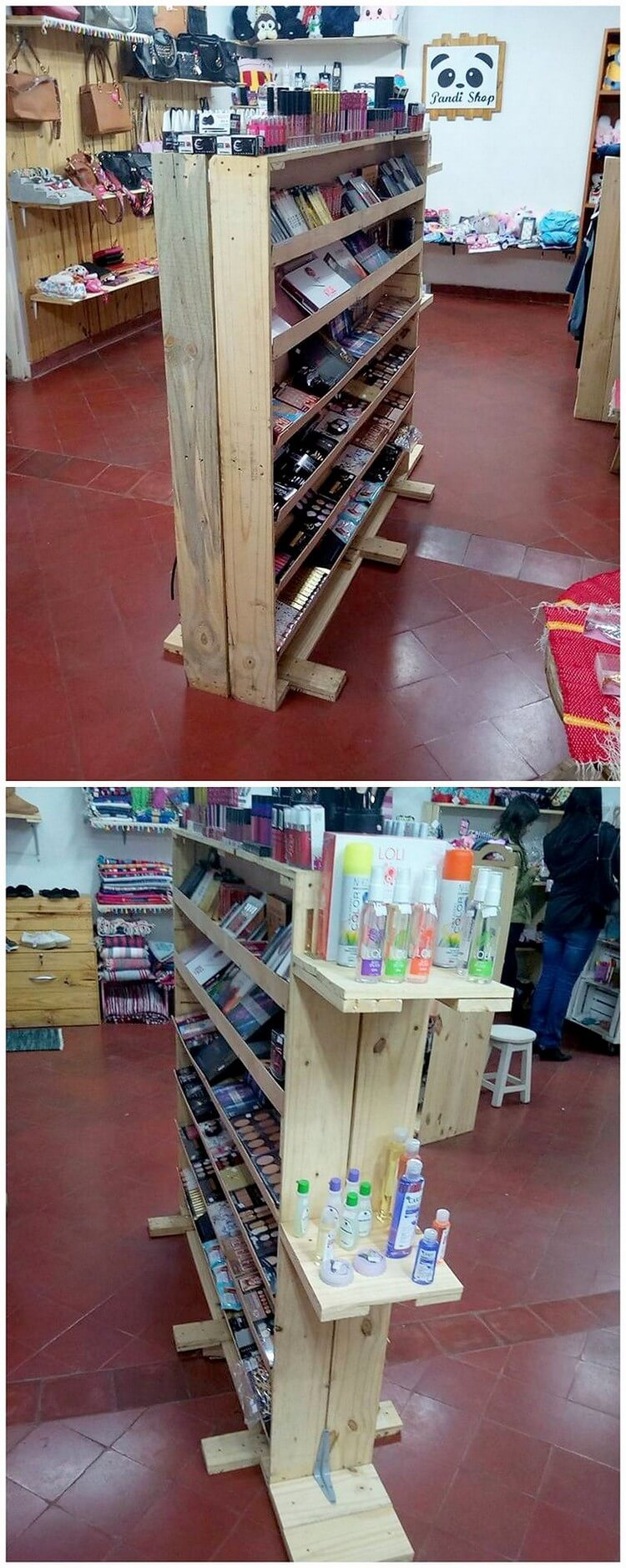 Pallet Creation at Shop