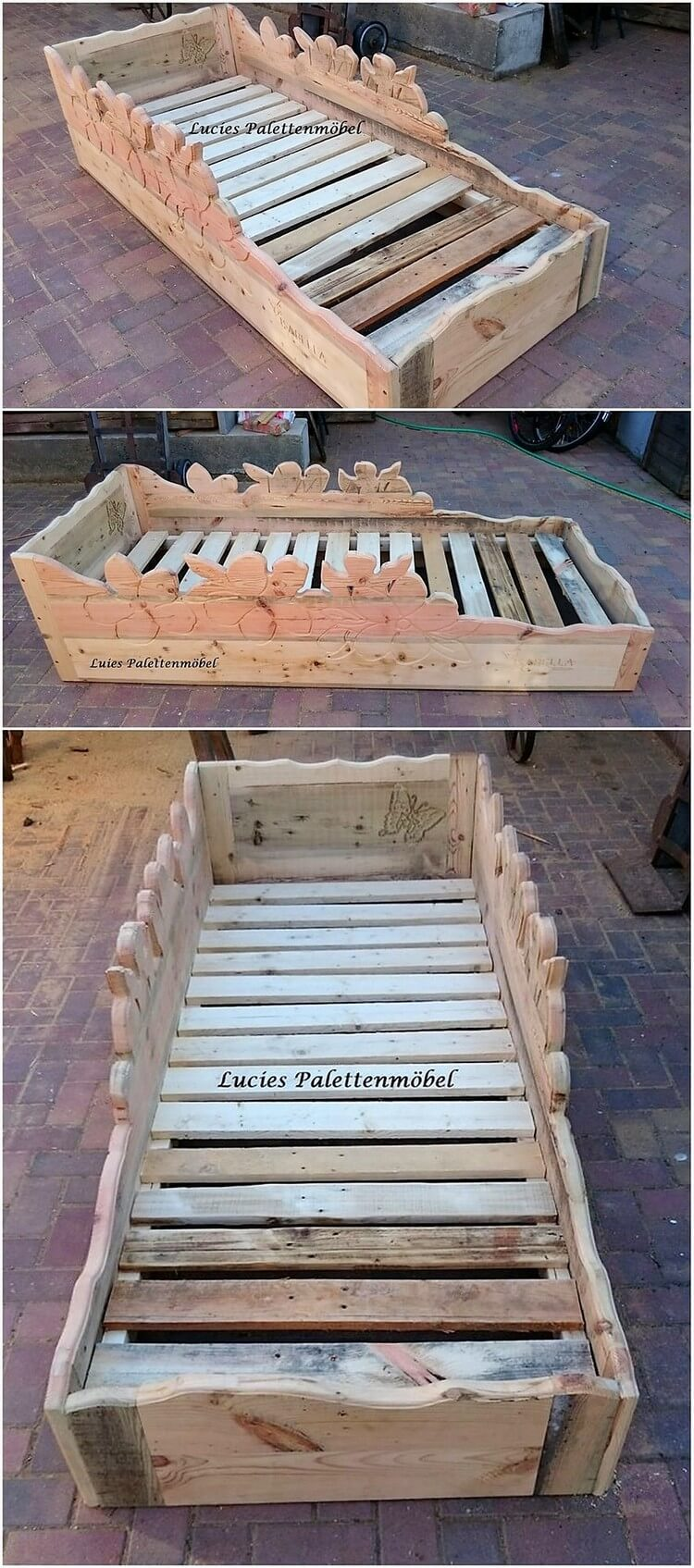 Creative ideas to give wood pallets second chance pallet for Creative pallet