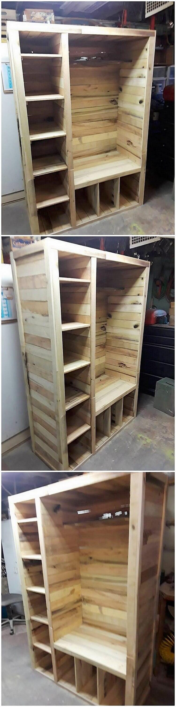 Pallet Cupboard (2)