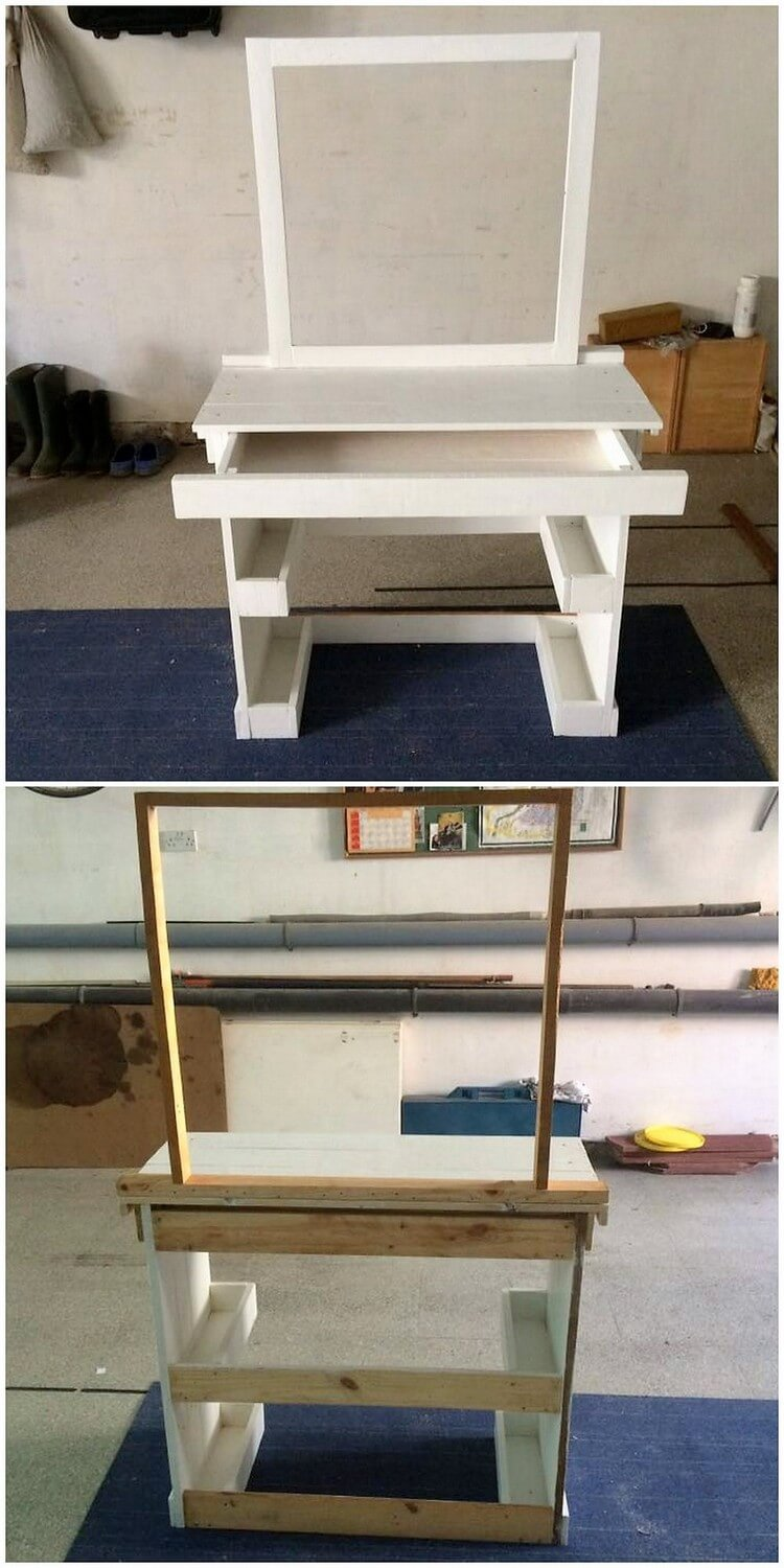 Pallet Dressing Table (2)