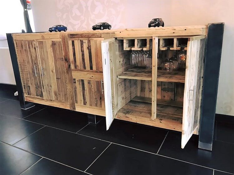Pallet Entryway Table Plan