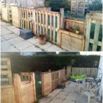 Pallet Garden Fence and Gate