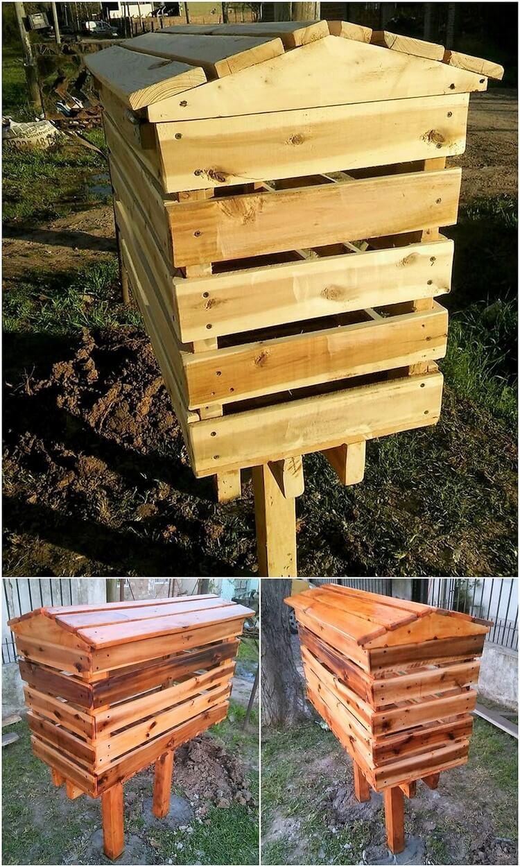 Pallet Mail Box