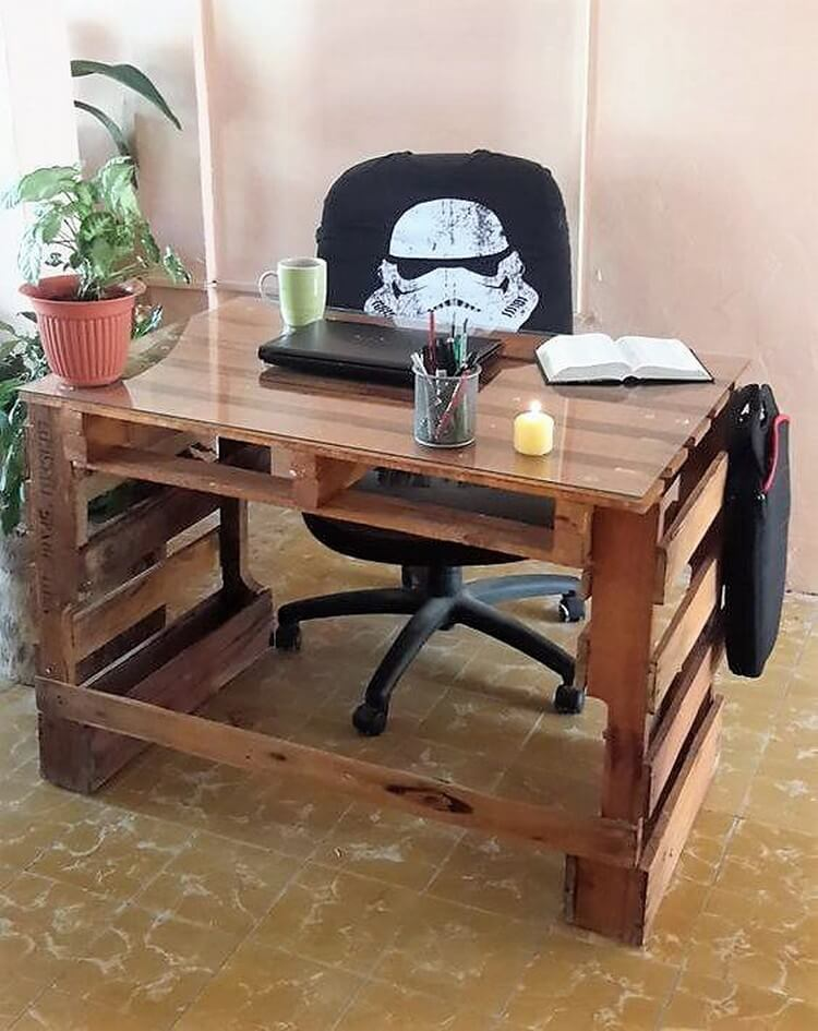 Creative wood pallet projects you can do it yourself for Europaletten bar