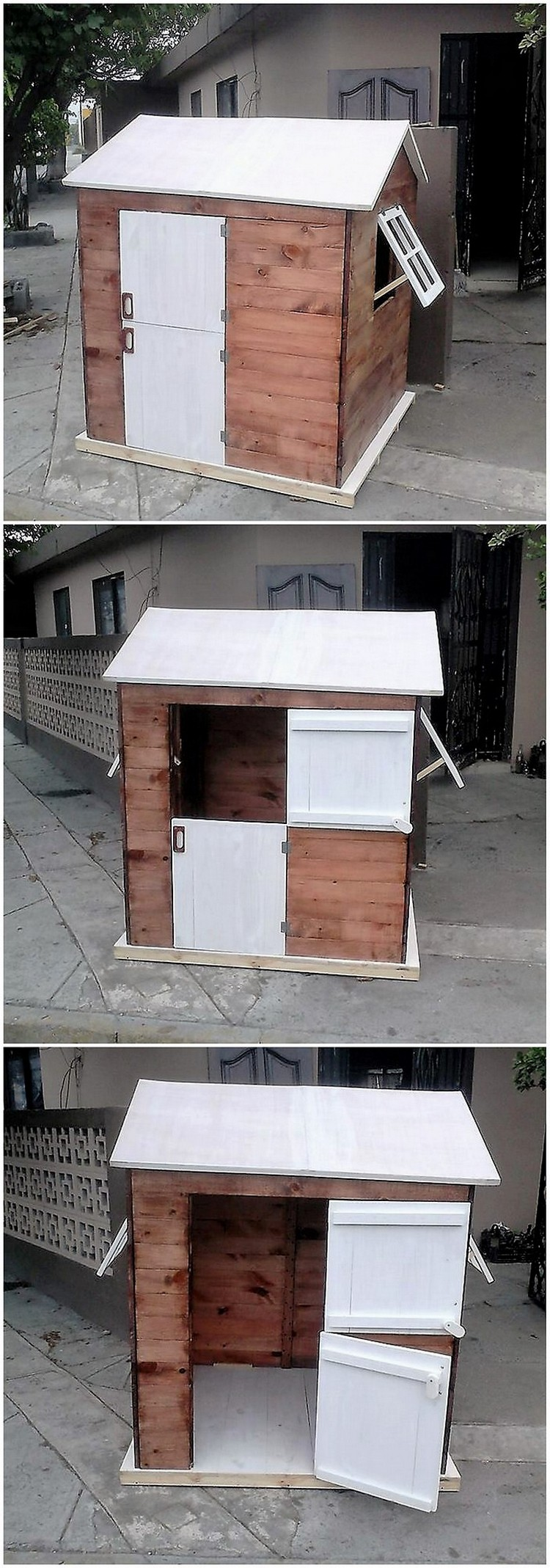 Pallet Play House for Kids