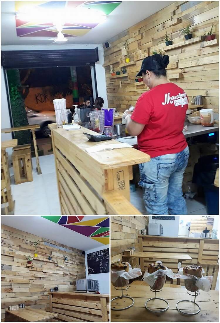 Pallet Shop Furniture and Wall Paneling