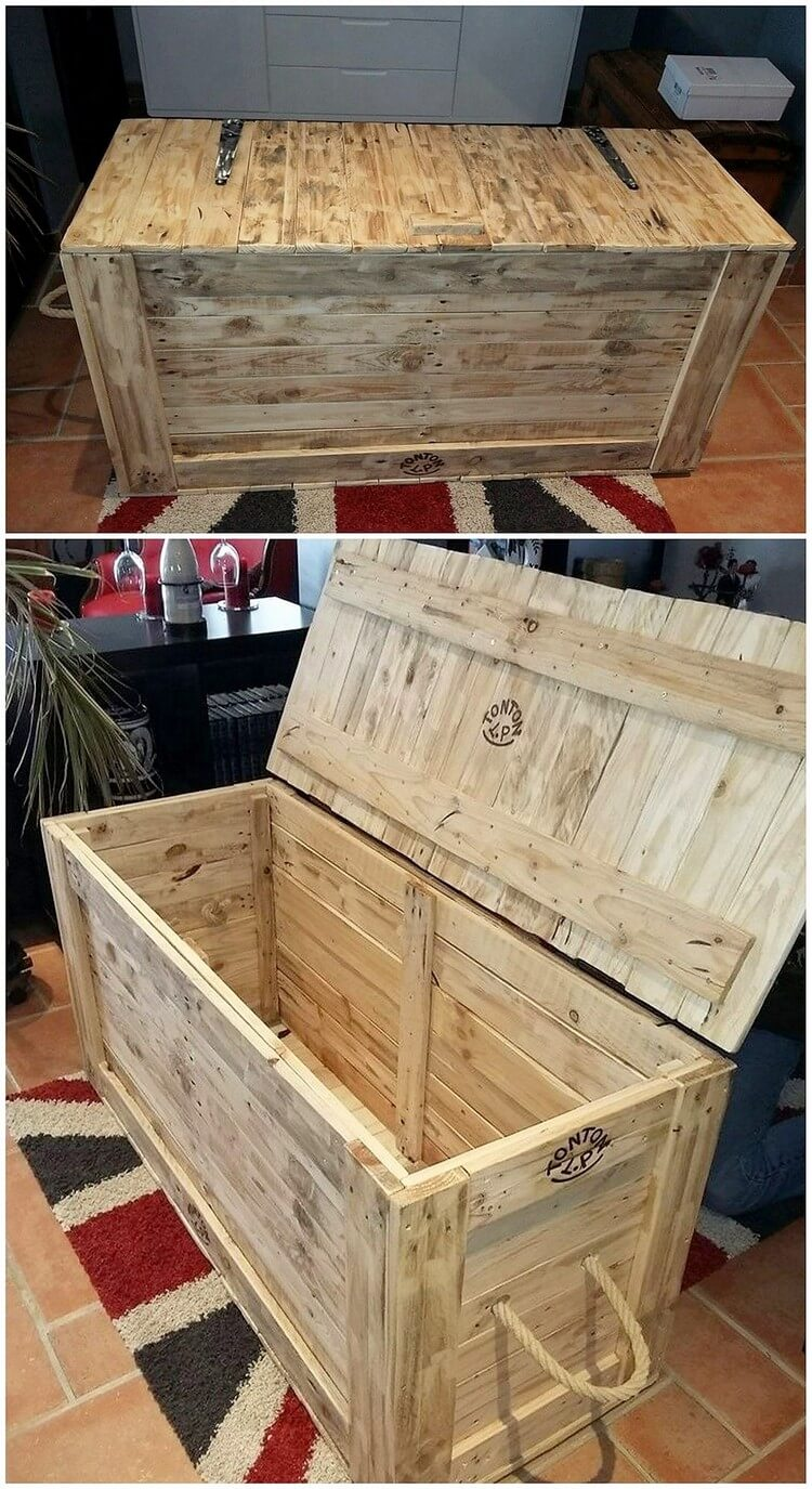 Cheap And Easy Pallet Furniture Ideas That Will Inspire