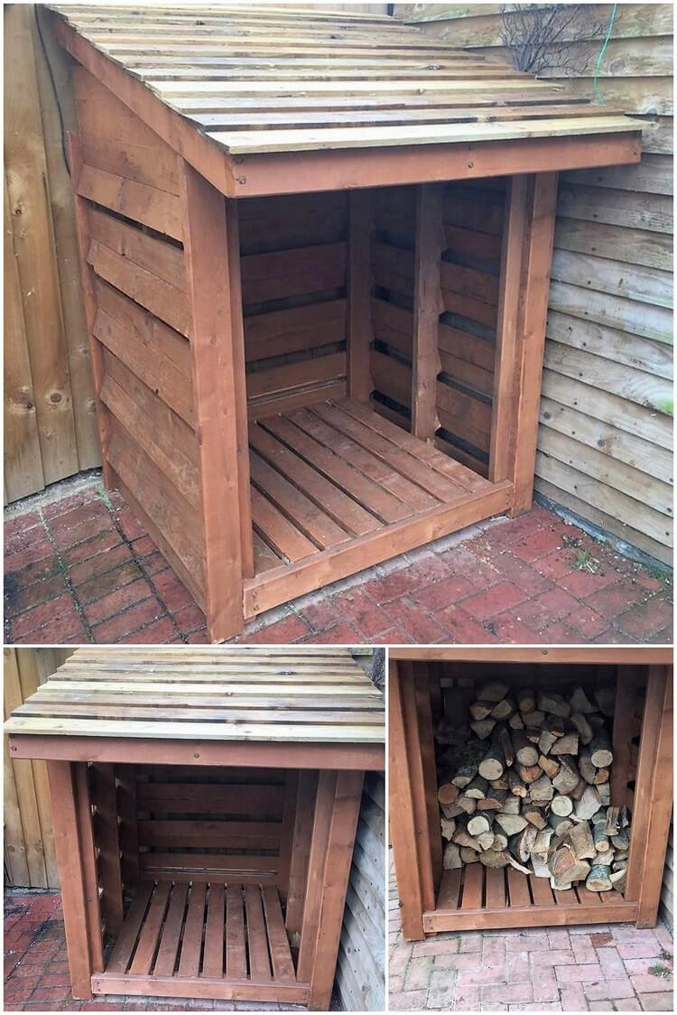 Pallet Wood Garden Shed : Make something creative and useful with old wood pallets