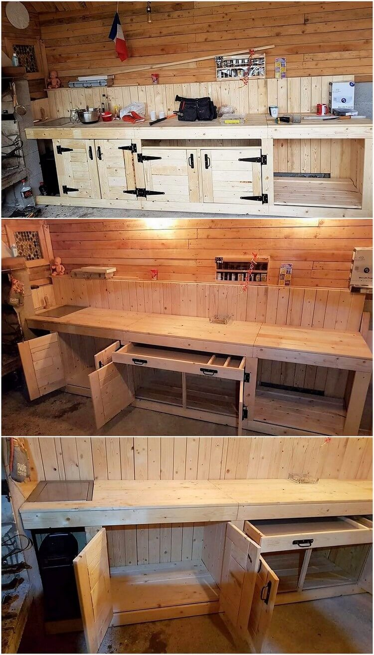 Pallets Mud Kitchen