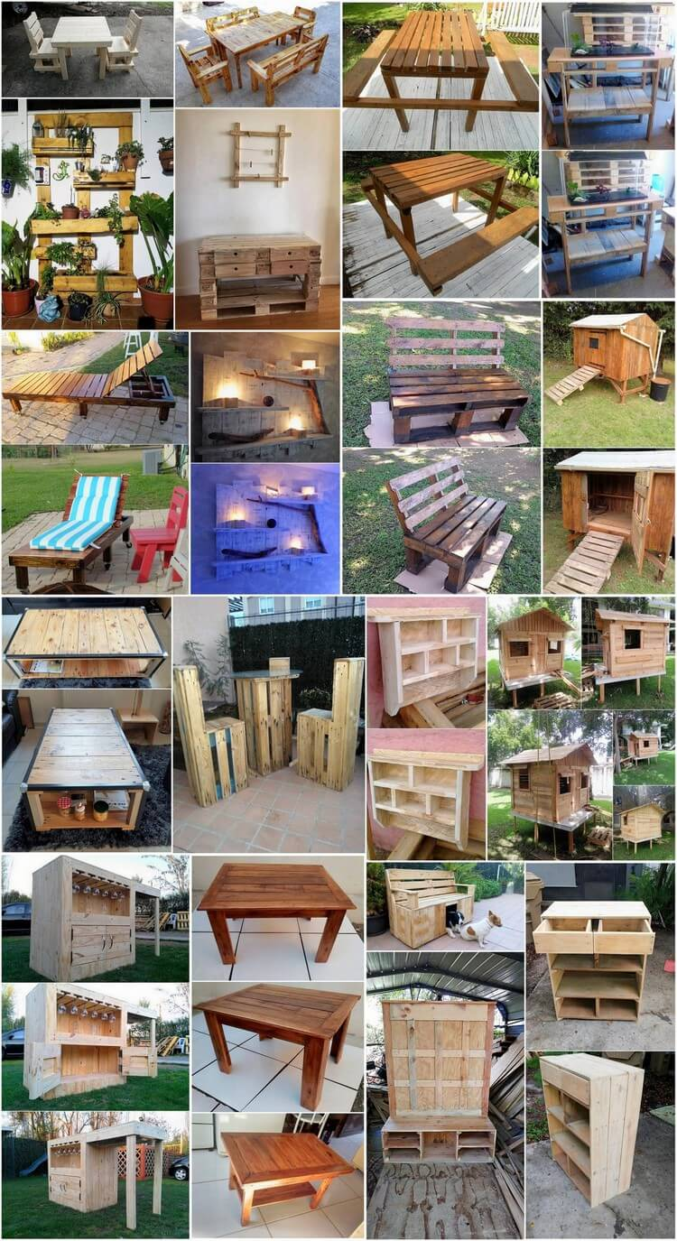 Recreation Ideas with Old Dumped Wood Pallets