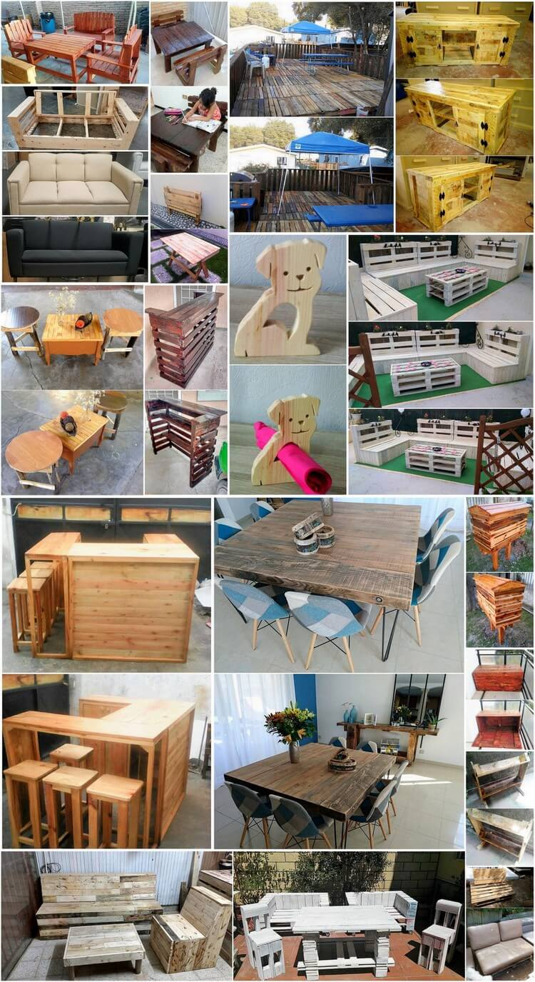 repurpose wood pallets to make some amazing things Black Outdoor Furniture Contemporary Outdoor Furniture