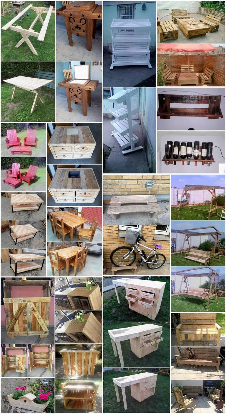 Sensational Ideas for Reusing Old Wood Pallets