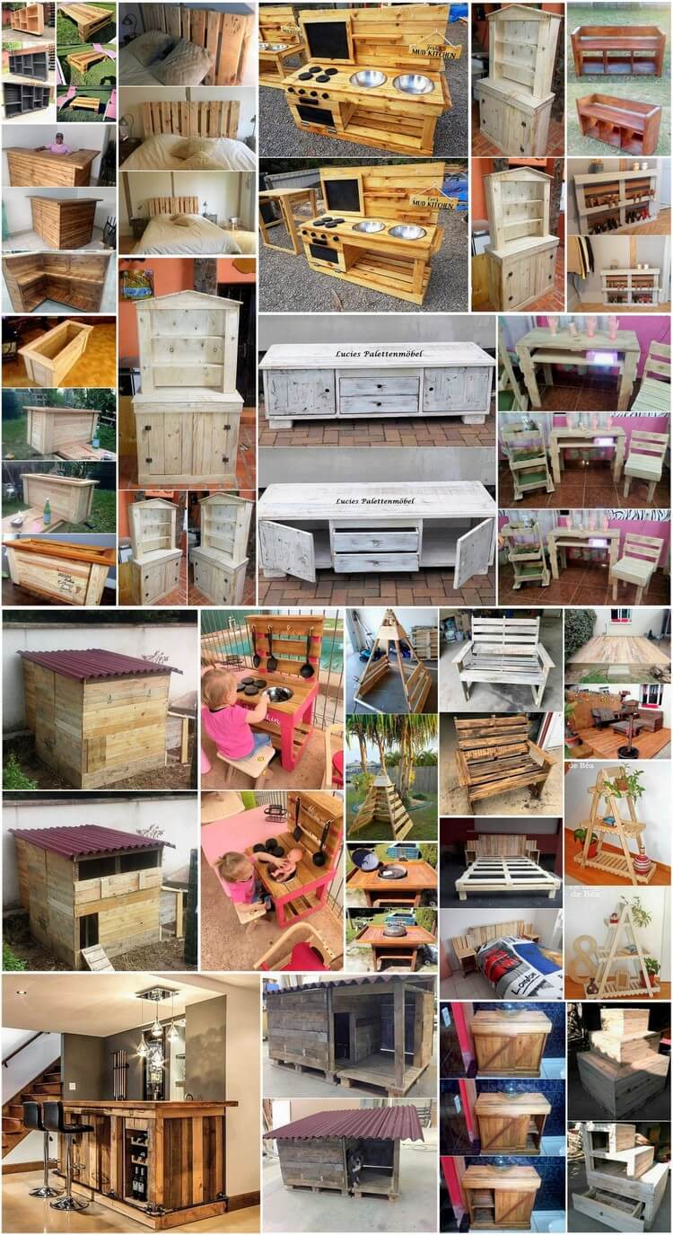 Awesome diy projects with old shipping wooden pallets for Epic diy projects