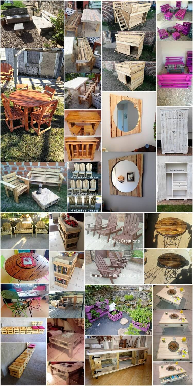Awesomely Created Shipping Wood Pallet Projects for Your Home