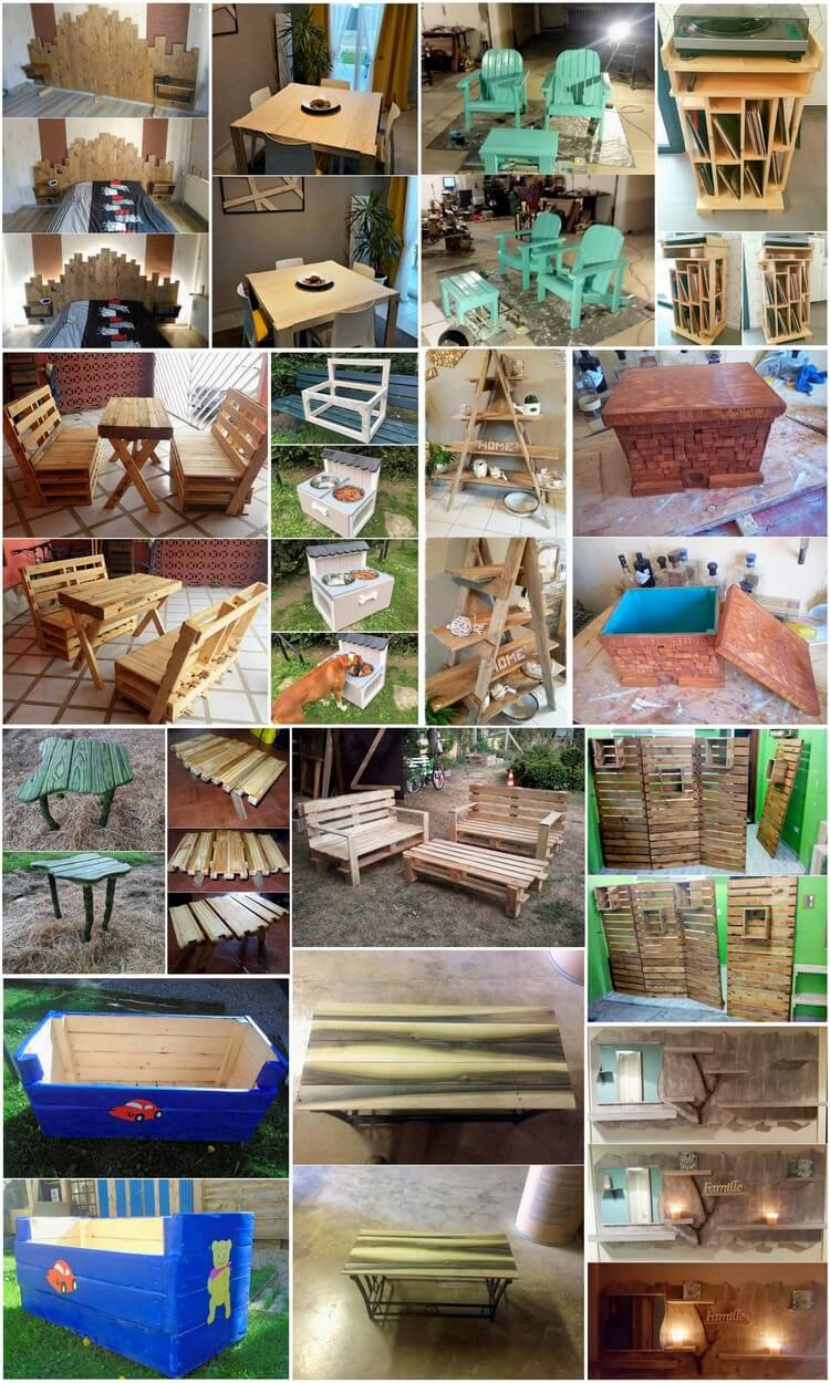 Best DIY Ideas for Reusing Old Wooden Pallets