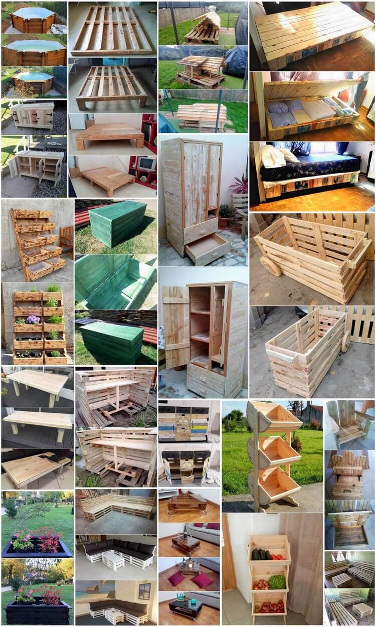 Latest And Easy Diy Wood Pallet Ideas You Ll Love To Make Pallet Wood Projects