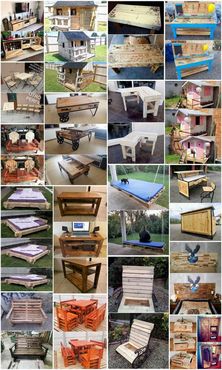 Low Cost DIY Wood Pallet Projects That will Inspire You