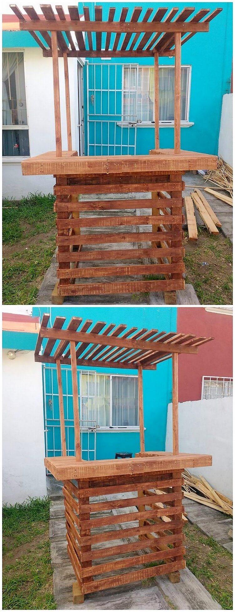 Beste und einfache DIY Holzpalette, die Ideen wiederverwendet - DIY ...