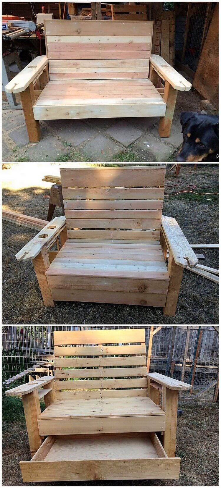 Fantastic ways to repurposed old shipping pallets pallet for Repurposed pallet projects