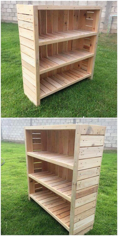 Pallet Bookcase (2)