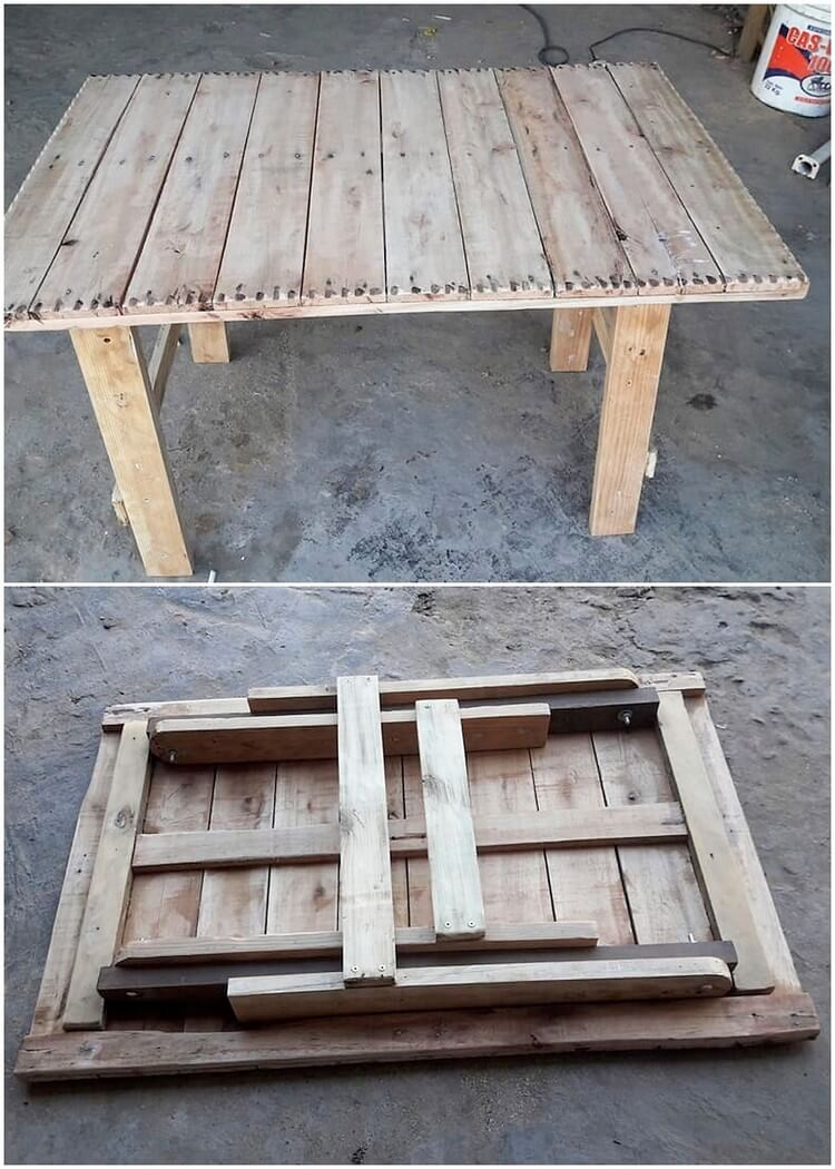 Innovative Ideas To Utilize Wood Pallets With Amazing