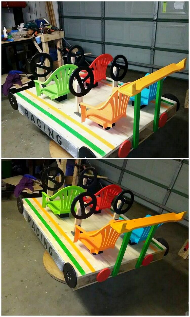 Pallet Kids Wagon (2)