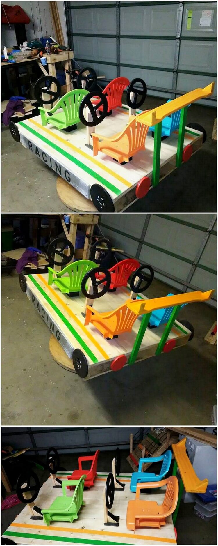 Pallet Kids Wagon