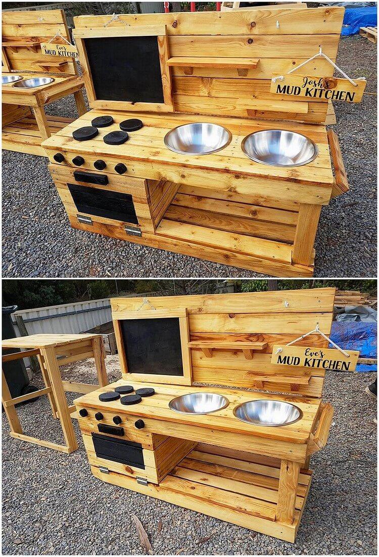 Pallet Mud Kitchen