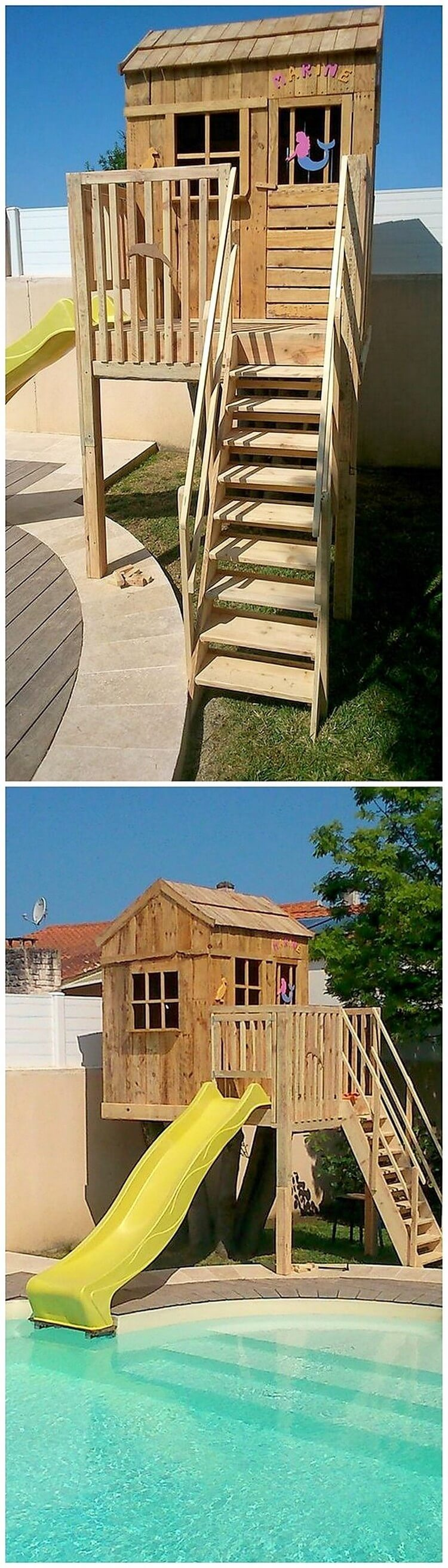 Pallet Playhouse (2)
