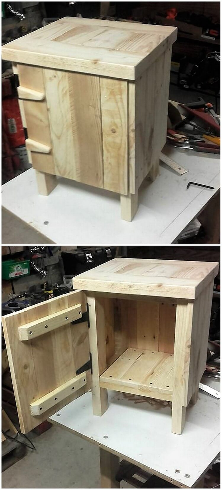 Pallet Small Cabinet (2)