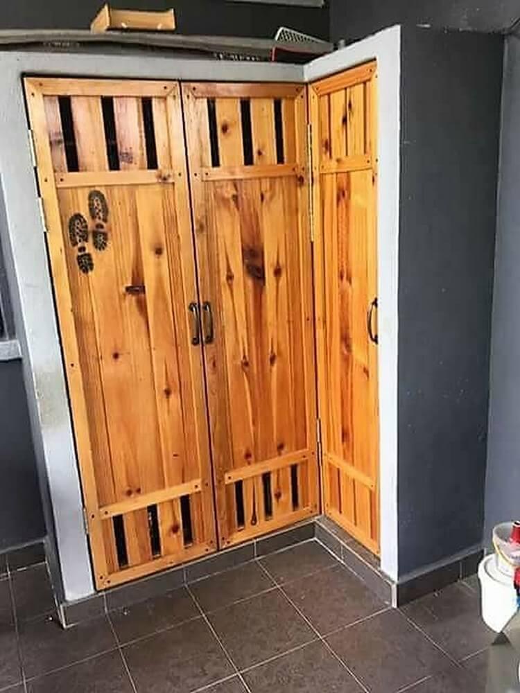 Pallet Wardrobe Doors