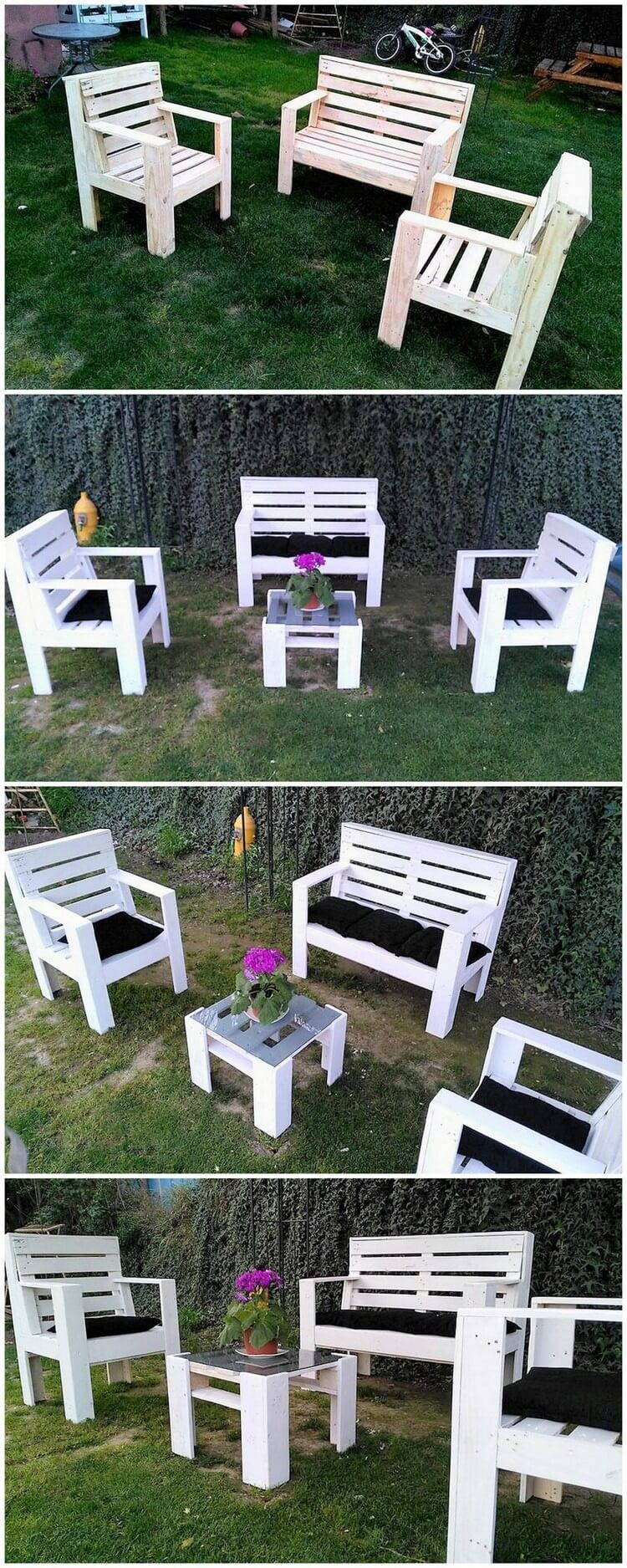 Pallets Garden Furniture