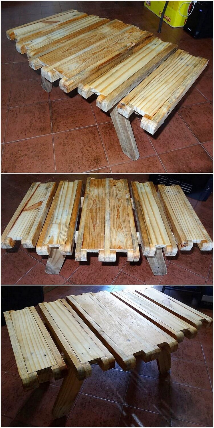 Unqiue Wood Pallet Table