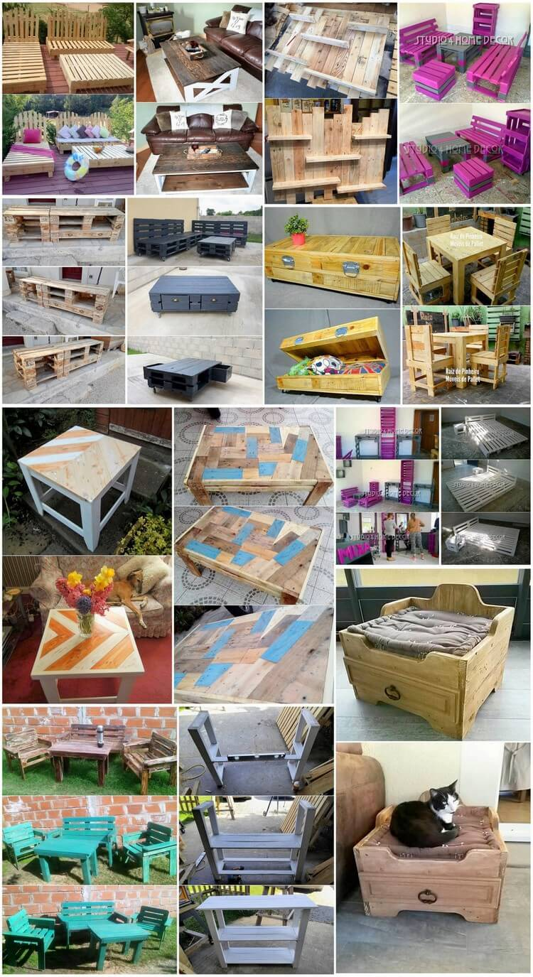 Wonderful Creations with Shipping Wood Pallets