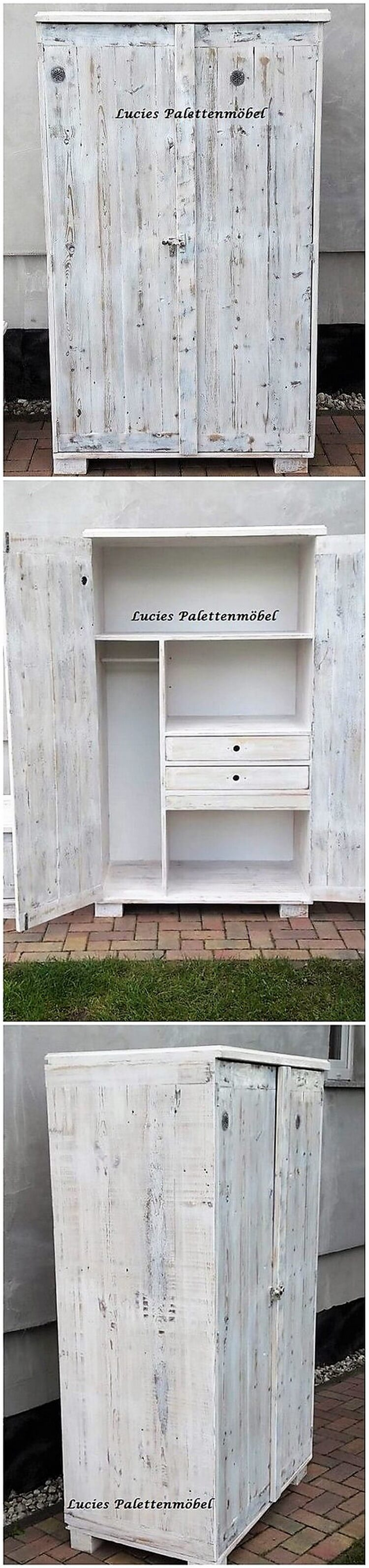 Wood Pallet Cupboard (2)