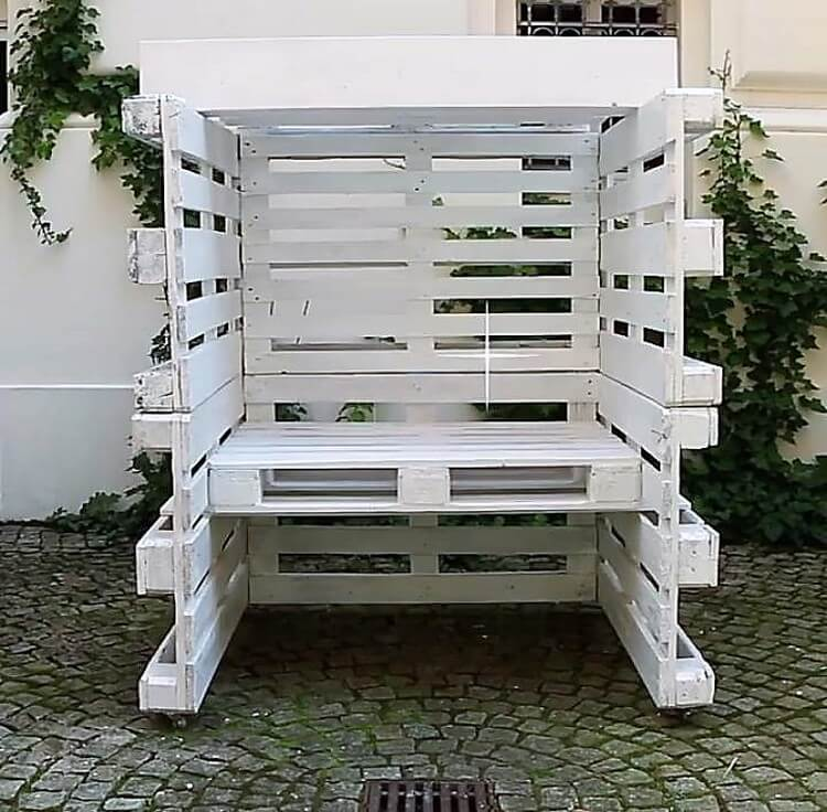 Wooden Pallet Seating Area