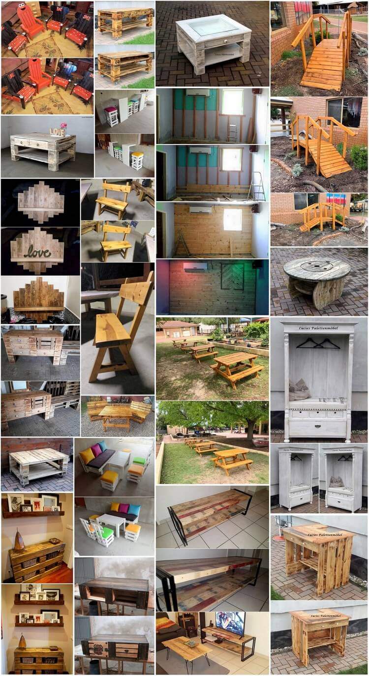 Amazing Things You Can Make Using Shipping Wood Pallets