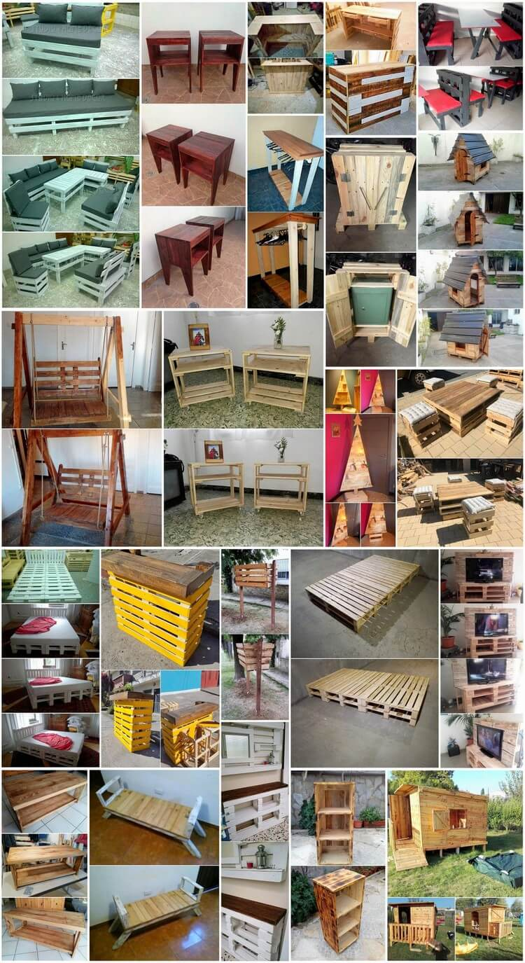 Fantastic Ideas of How To Recycle Old Wood Pallets
