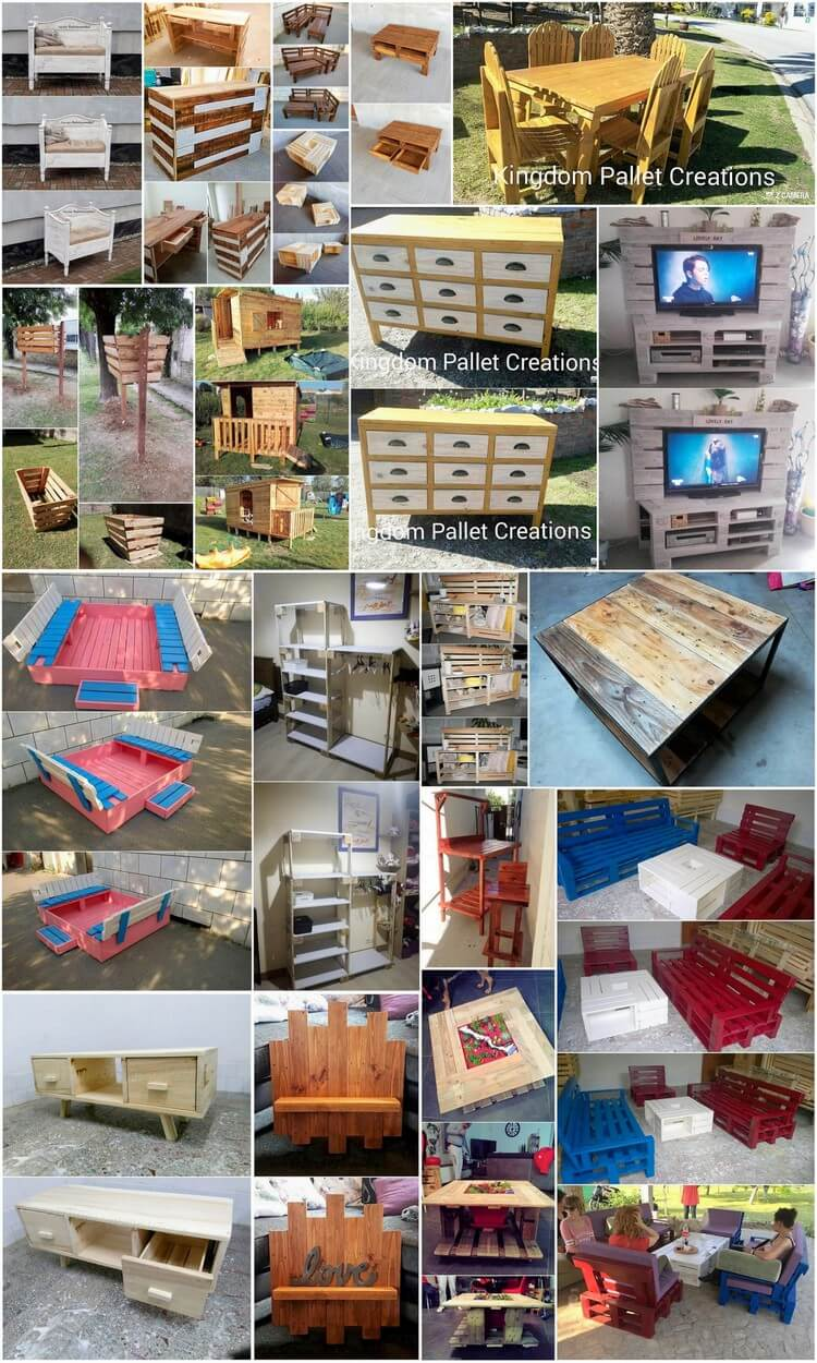 Fresh Ideas for Shipping Wooden Pallets Repurposing