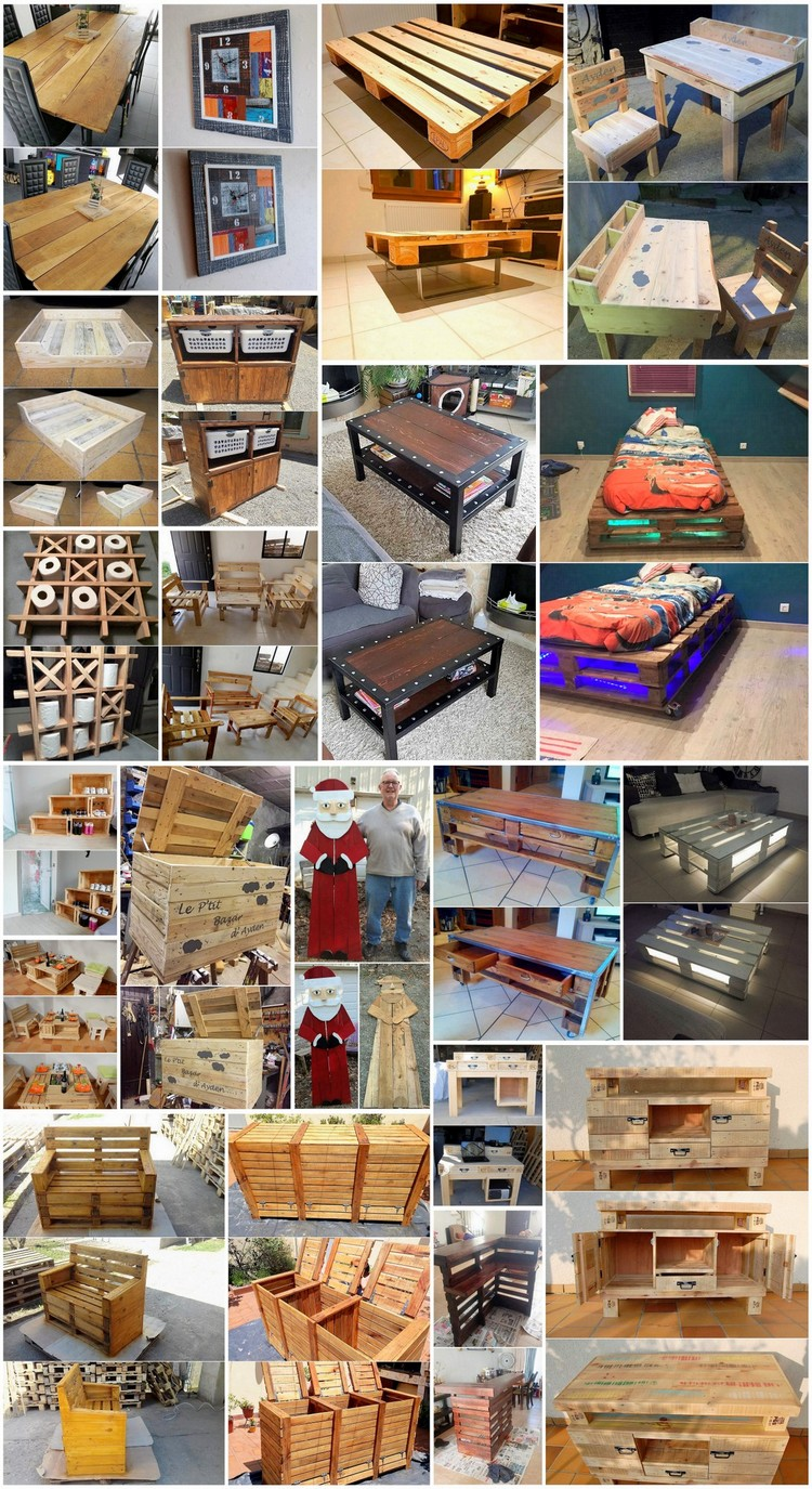 Genius Ideas to Upcycle Old Shipping Pallets Into Creative Home Furnishings