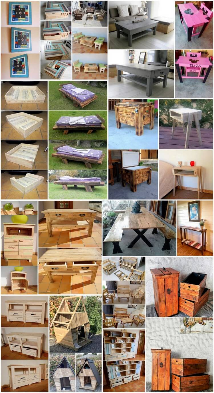 Heart Touching Creations with Old Shipping Wood Pallets