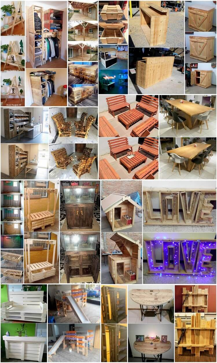 Ingenious Ways to Recycle Used Wood Pallets