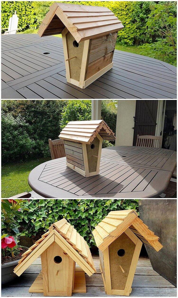 Pallet Birdhouses