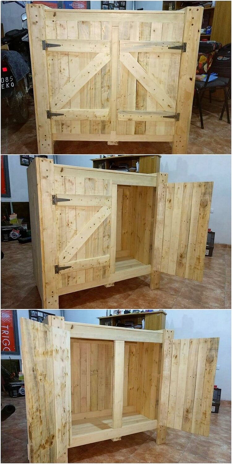 Genius ideas to convert old wood pallets into amazing for Old wood pallets ideas