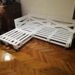Pallet Corner Couch or Daybed