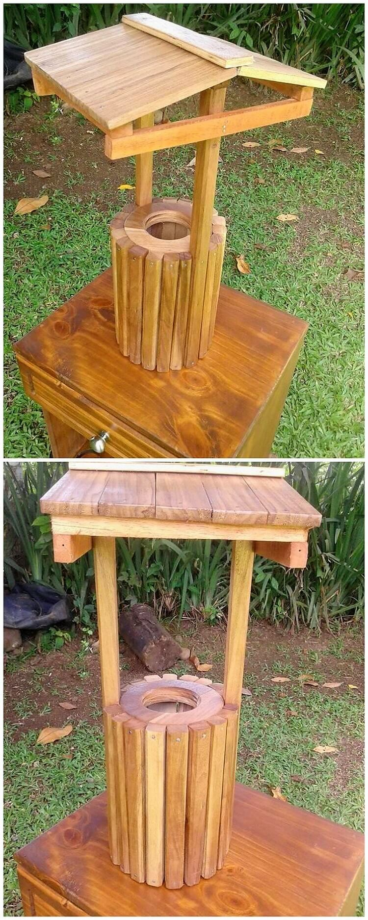 Pallet Mini Wishing Well