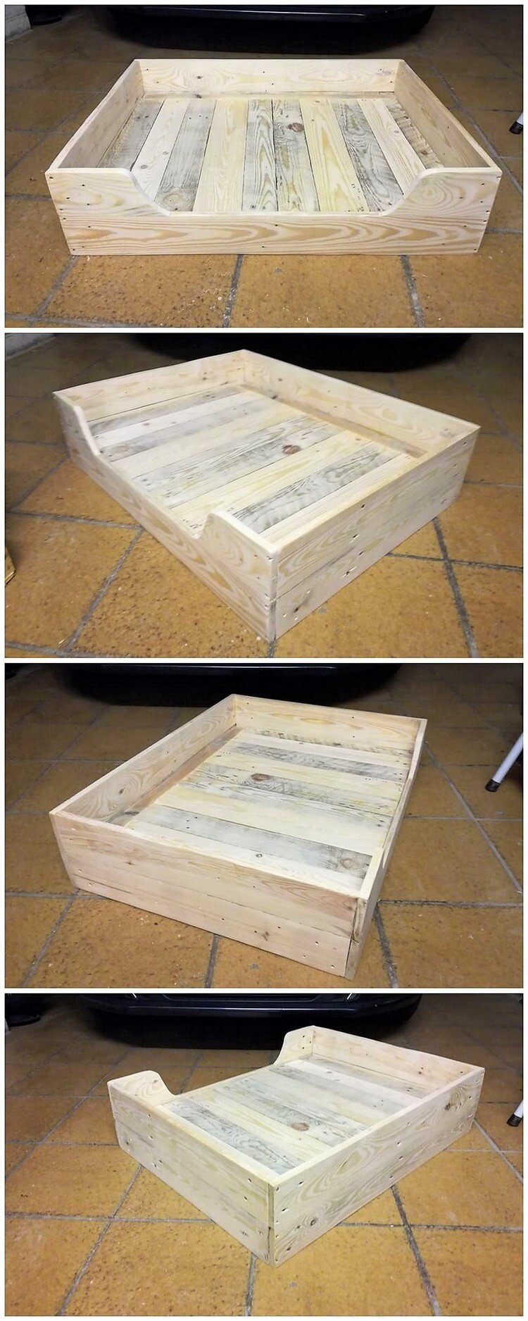 Wood Pallet Tray