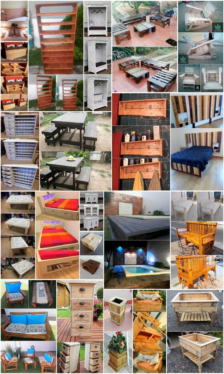 Best Tips and Great Ideas for Reusing Old Shipping Pallets