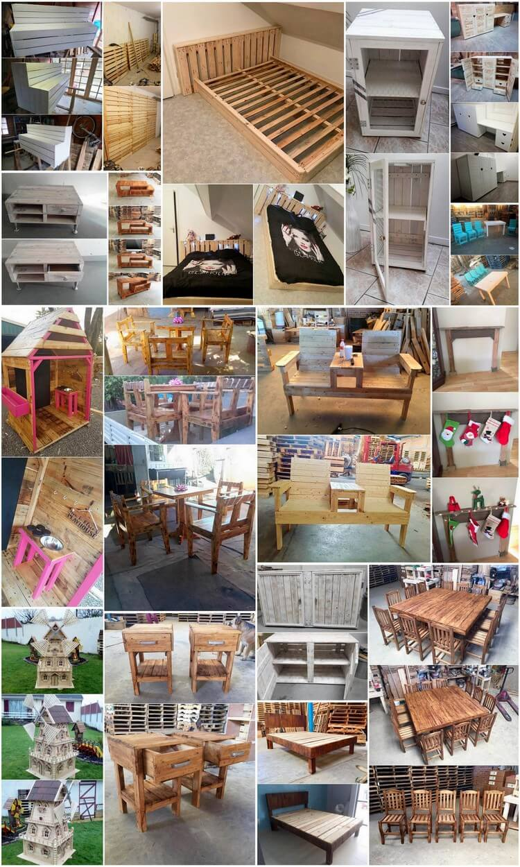 Clever Ideas for Reusing Wasted Wood Pallets