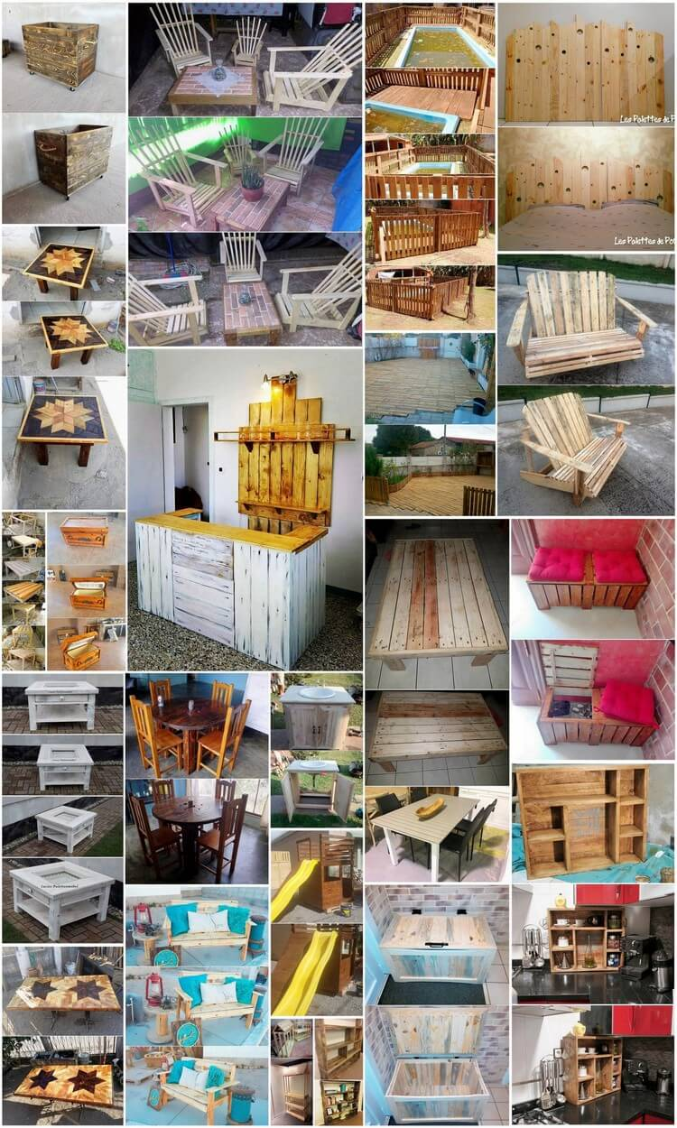 Great Ideas for Repurposing Old Shipping Wood Pallets